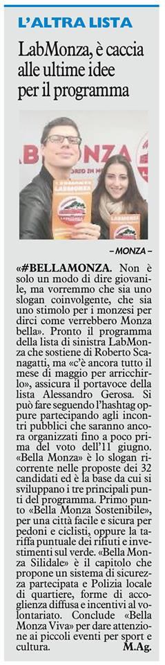 #BellaMonza